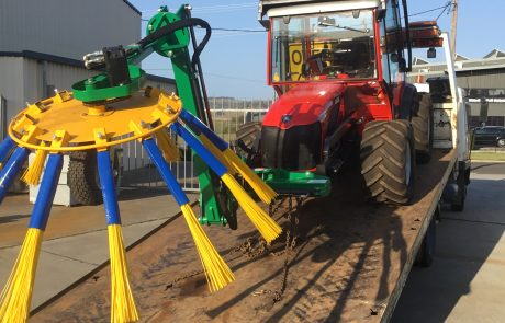 Orchard Clean Out Brush Sweeper